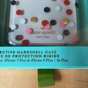 kate spade Accessories - Kate Spade iPhone Confetti Dot Case New!!!